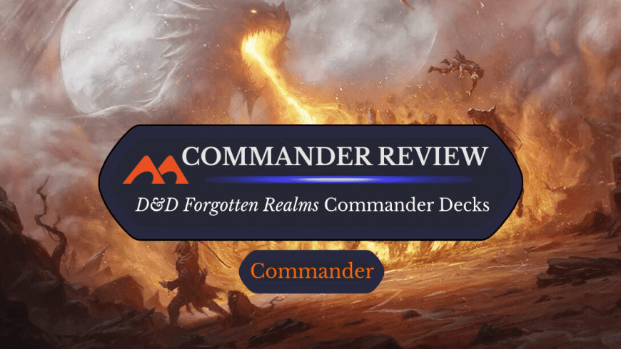 Adventures in the Forgotten Realms Commander Decks: Are They Worth It?