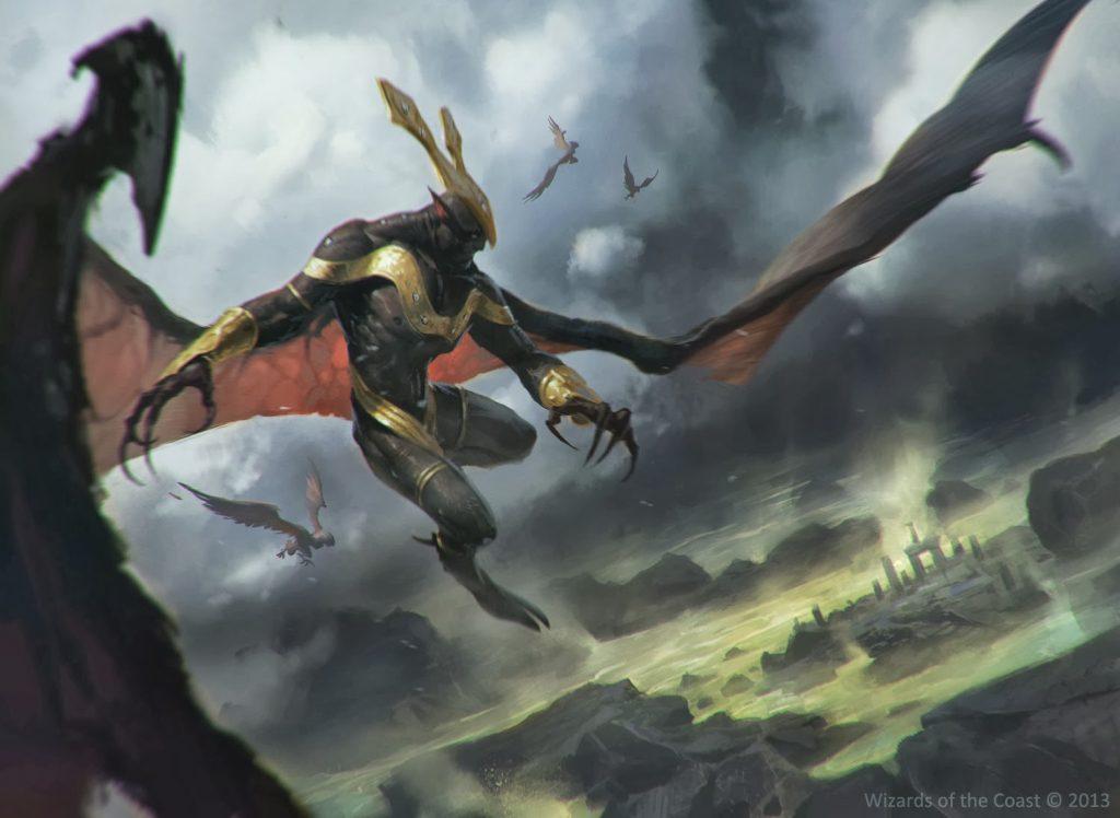 Abhorrent Overlord - Illustration by Slawomir Maniak