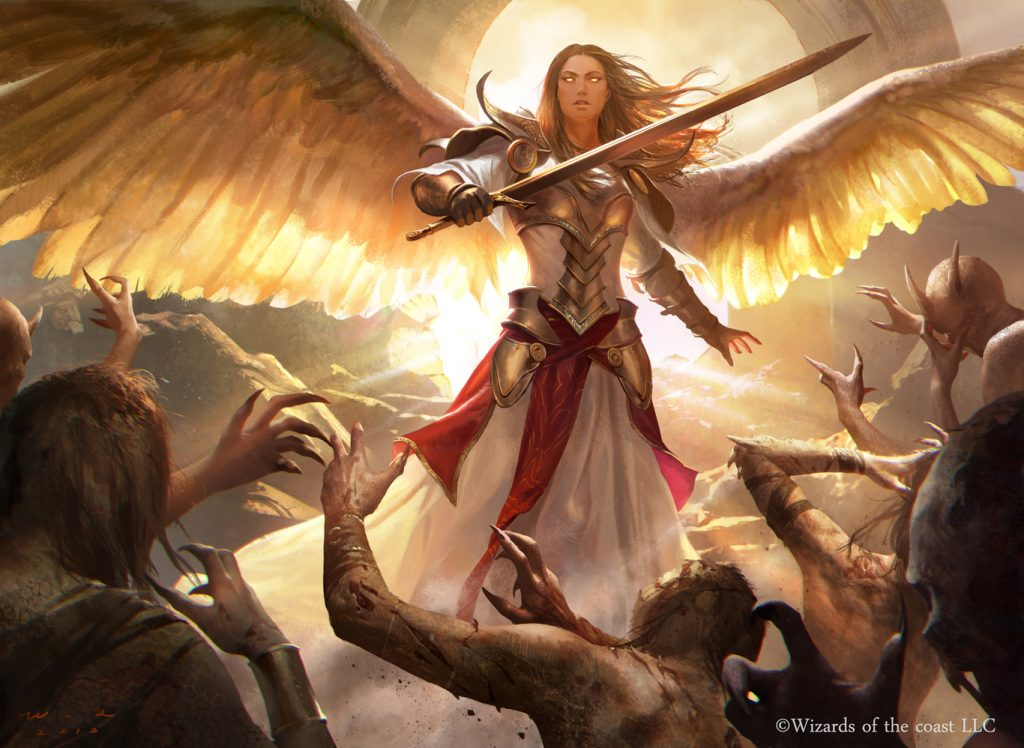Angel of the Dire Hour - Illustration by Jack Wang