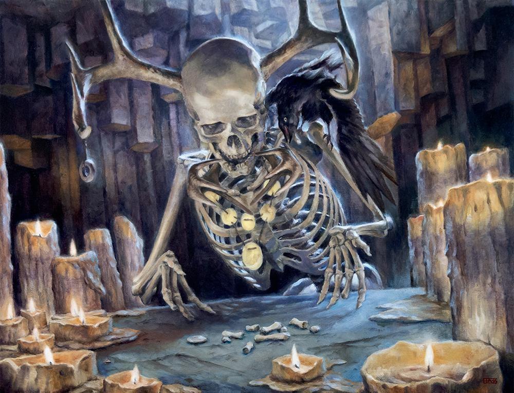 Clattering Augur - Illustration by Josh Hass