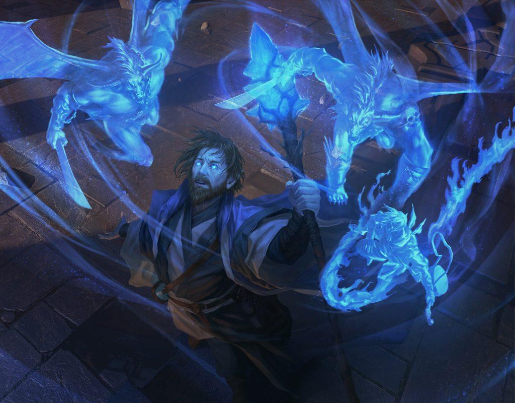 Diviner's Portent - Illustration by Lie Setiawan