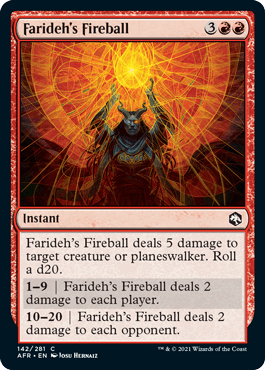 Farideh's Fireball