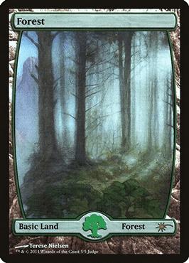 Full art Judge Promo Forest