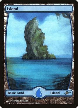 Full art Judge Promo Island