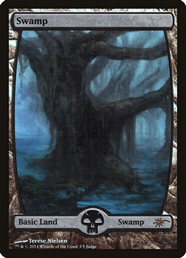 Full art Judge Promo Swamp