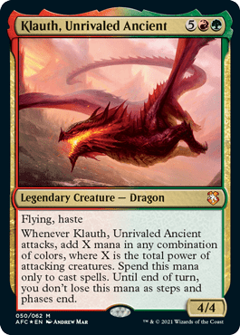 Klauth, Unrivaled Ancient