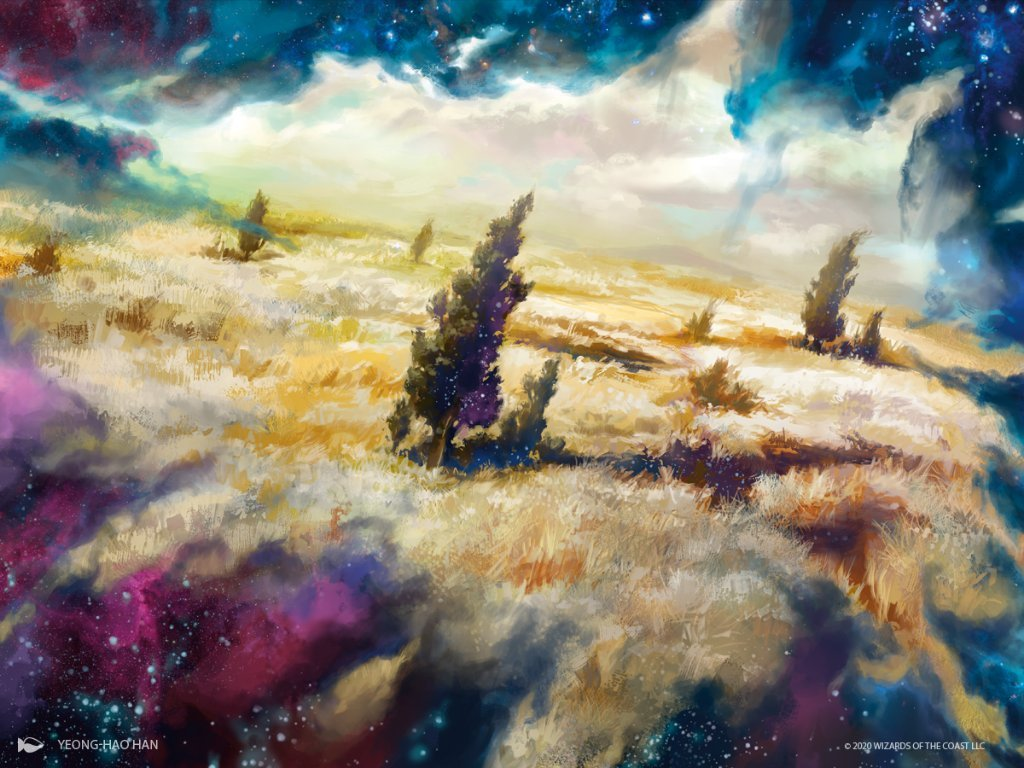 Plains (Jumpstart) - Illustration by Yeong Hao Han