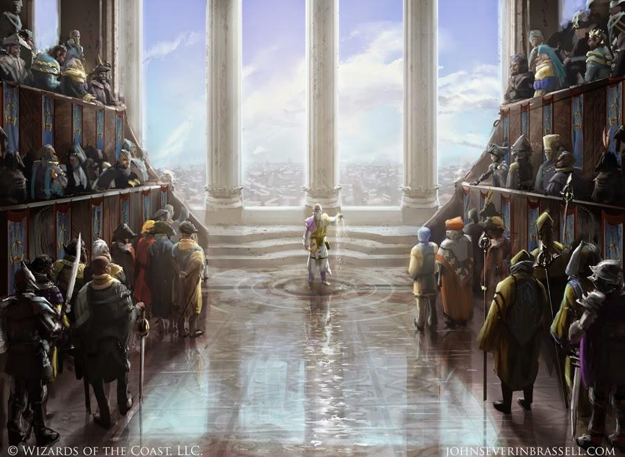 Plea for Power - Illustration by John Severin Brassel