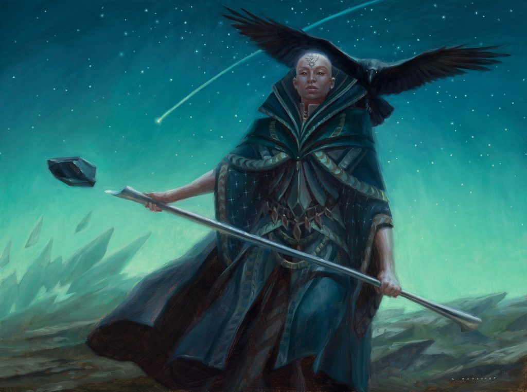 Sefris of the Hidden Ways - Illustration by Ryan Pancoast