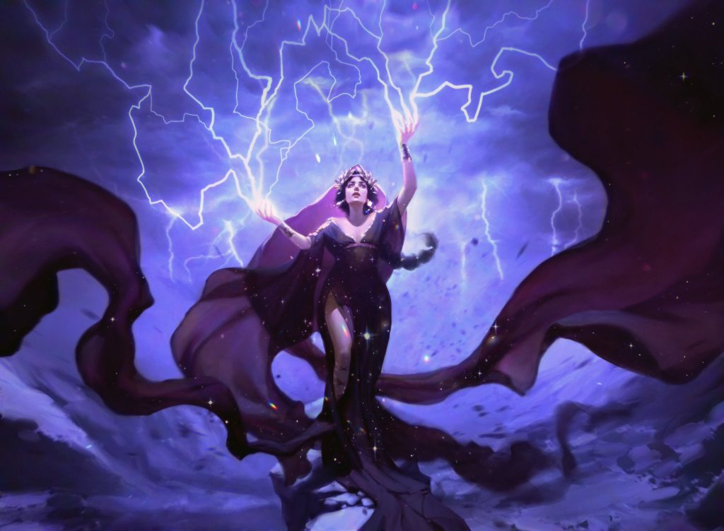 Storm God's Oracle - Illustration by Pauline Voss
