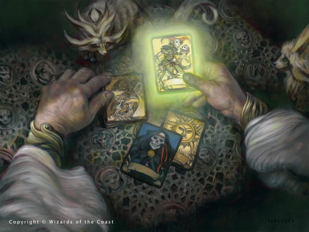 The Deck of Many Things - Illustration by Volkan Baga