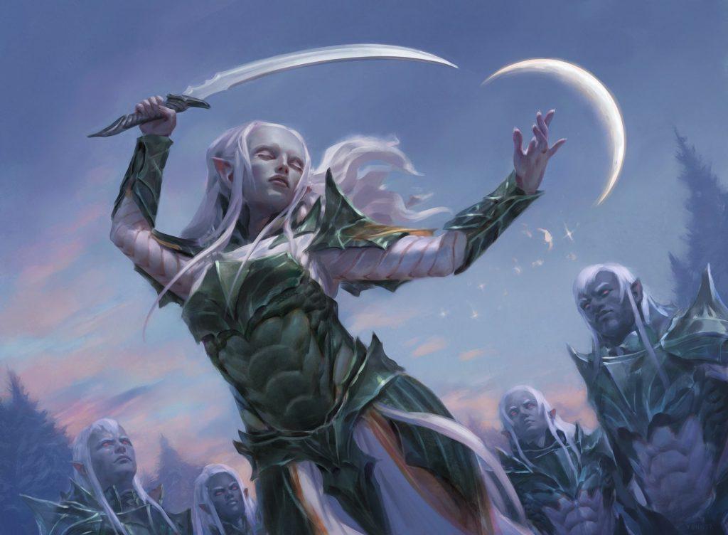 Trelasarra, Moon Dancer - Illustration by Kieran Yanner