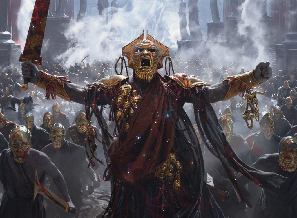 Tymaret, Chosen from Death - Illustration by Chase Stone