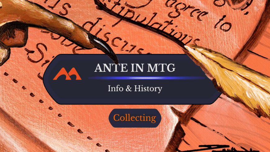 Ante Cards in Magic: History And Info