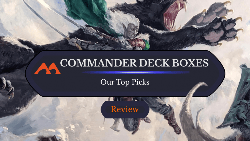 The Best Deck Boxes for EDH