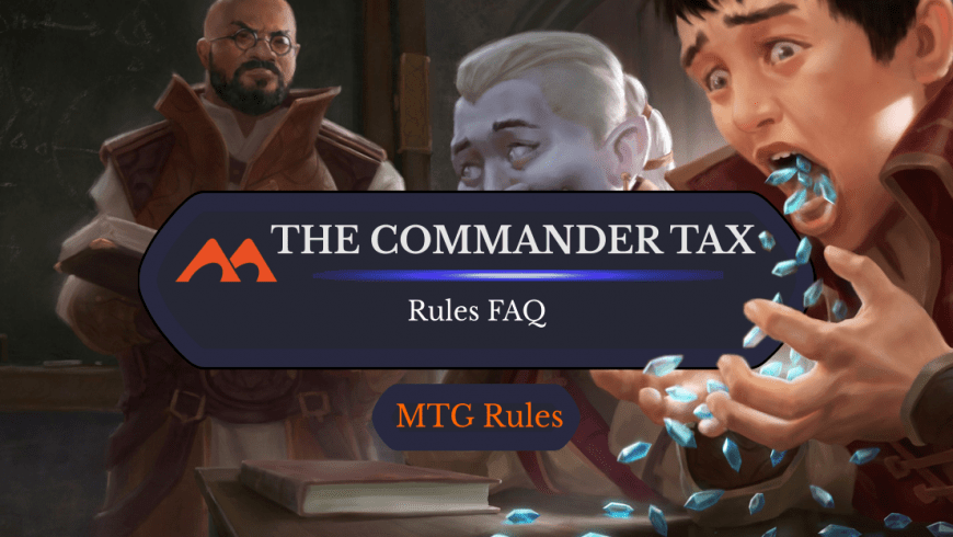 How Does the Commander Tax Work in EDH?