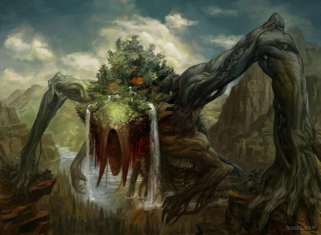 Animar, Soul of Elements - Illustration by Peter Mohrbacher