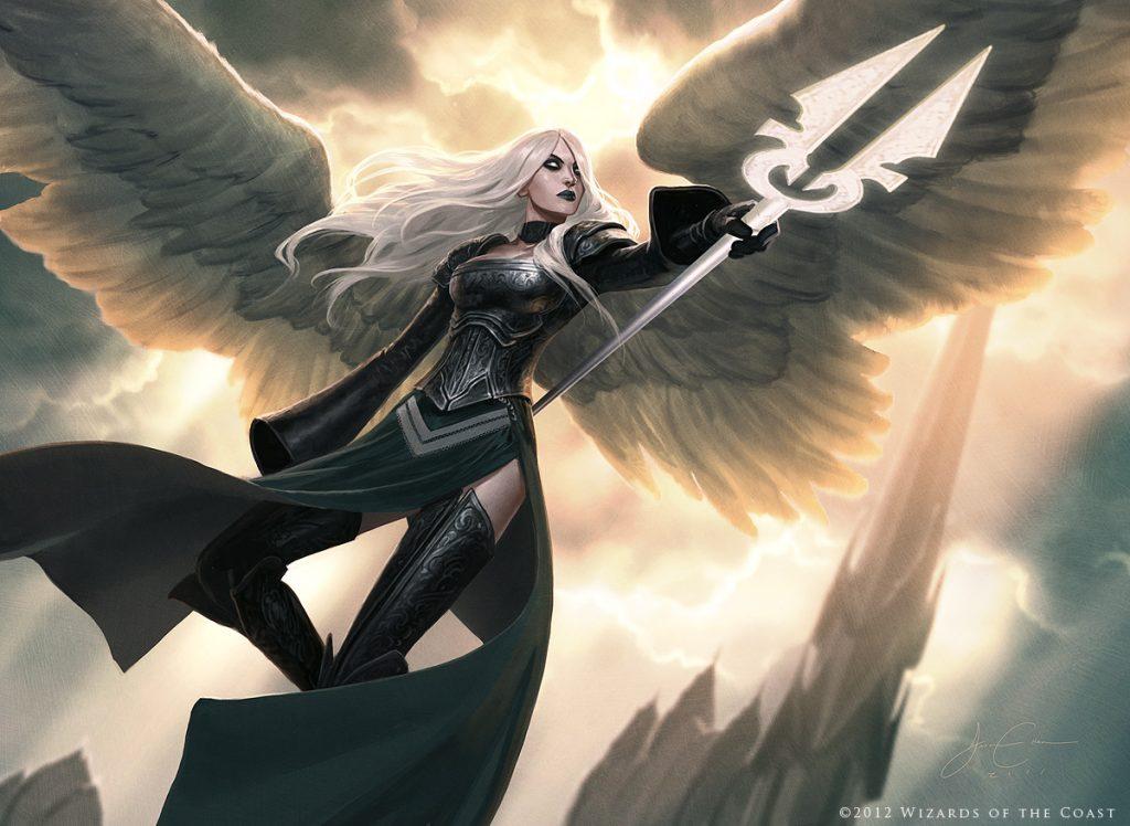 Avacyn, Angel of Hope - Illustration by Jason Chan