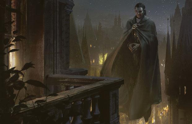 Balustrade Spy - Illustration by Jaime Jones