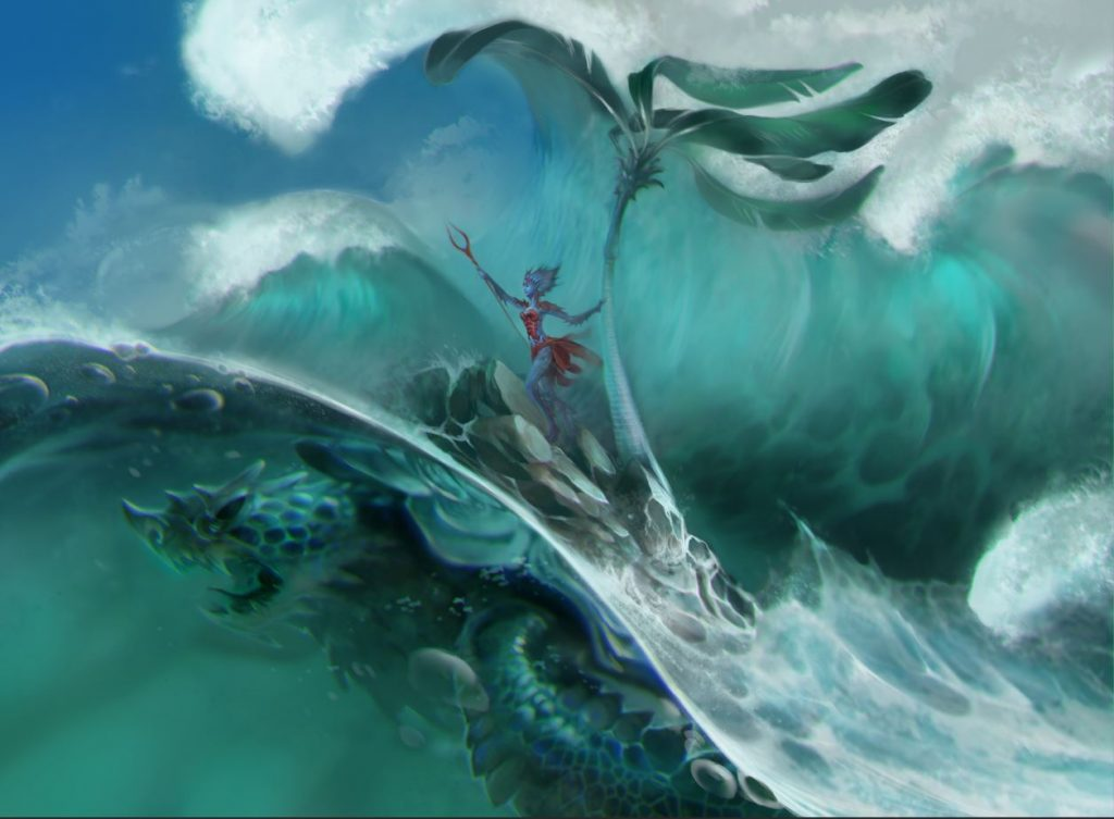 Bounty of the Deep - Illustration by Olena Richards
