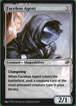Faceless Agent