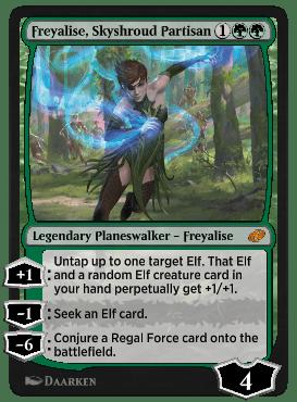 Freyalise, Skyshroud Partisan
