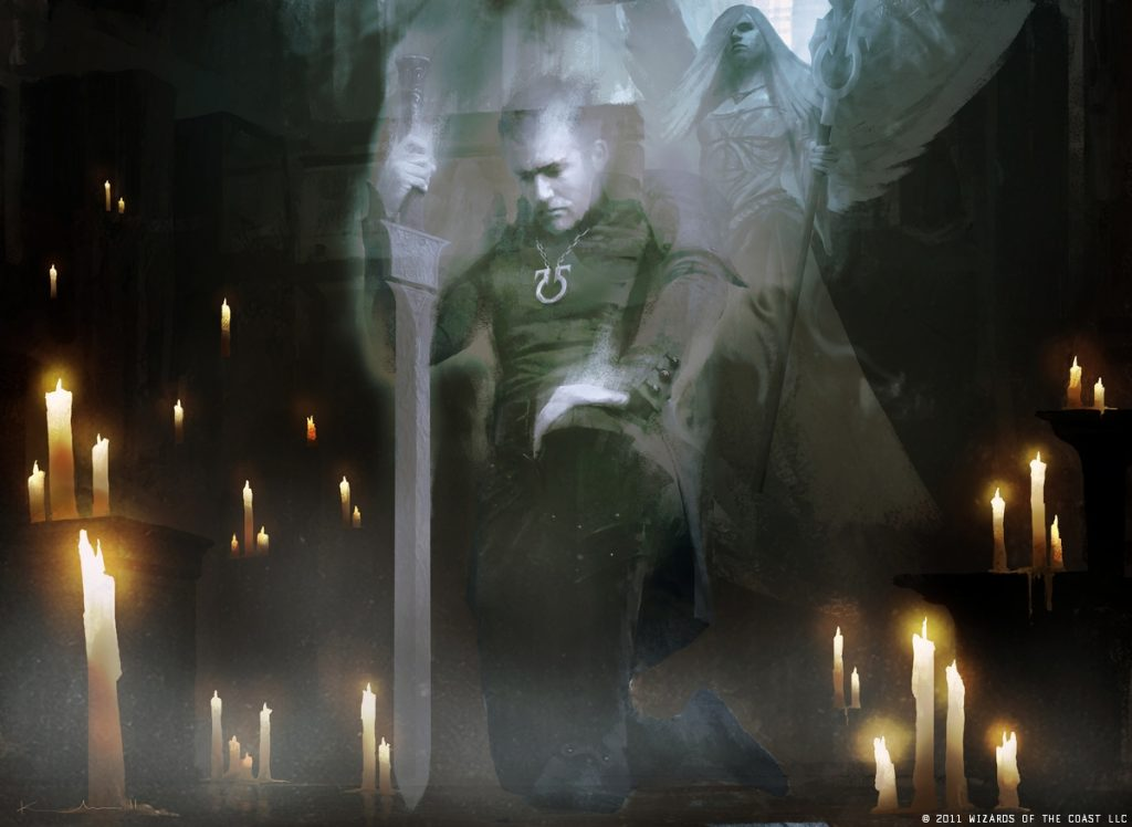 Geist of Saint Traft - Illustration by Igor Kieryluk
