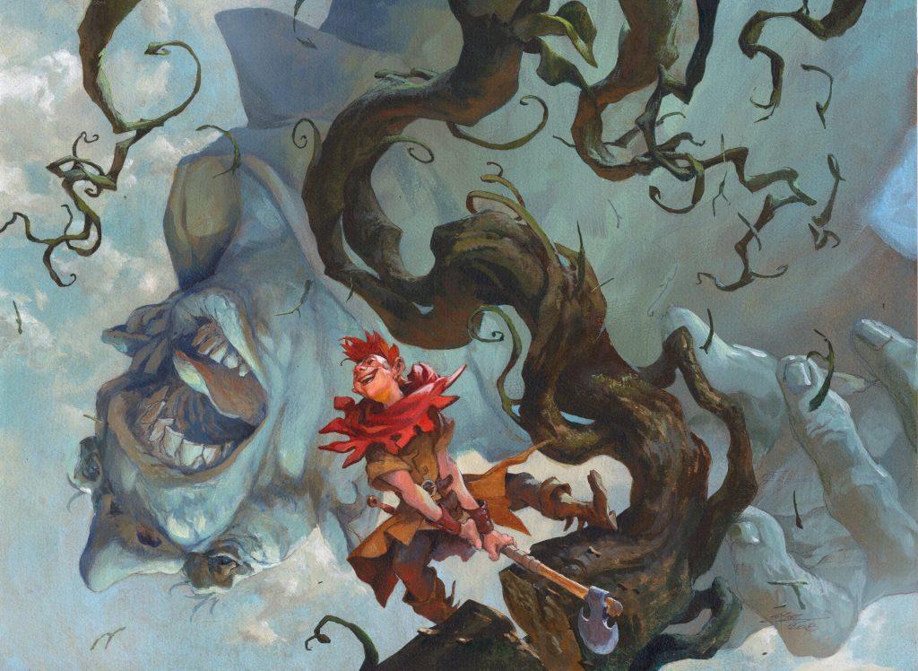 Giant Killer - Illustration by Jesper Ejsing