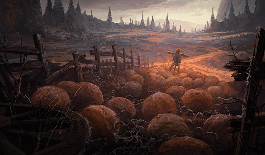Innistrad Art - Illustration by Andreas Rocha