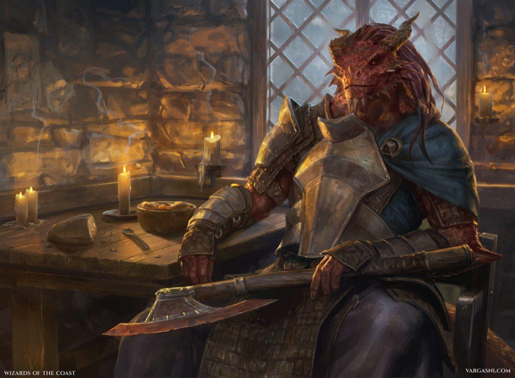 Jaded Sell-Sword - Illustration by Randy Vargas
