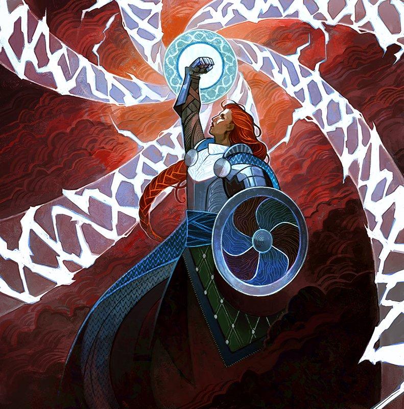 Lightning Helix (Strixhaven Mystical Archive) - Illustration by Minttu Hynninen