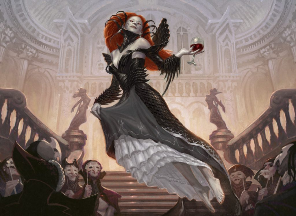 Olivia Voldaren - Illustration by Eric Deschamps