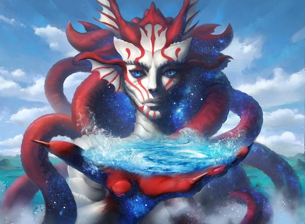 Omen of the Sea - Illustration by Piotr Dura