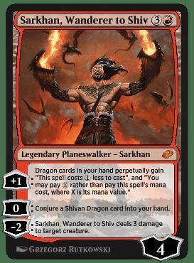 Sarkhan, Wanderer to Shiv
