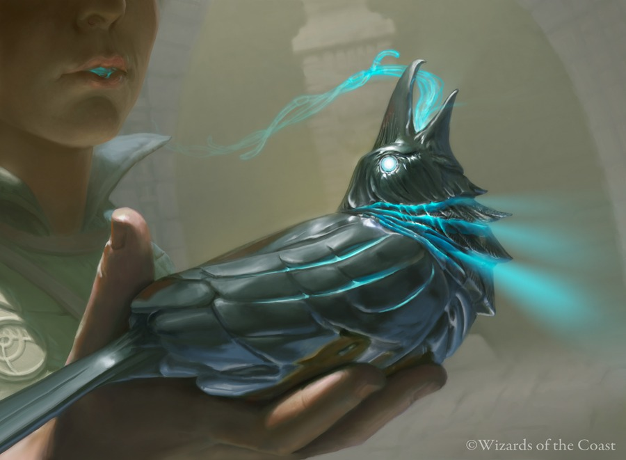 Silver Raven - Illustration by Joe Slucher