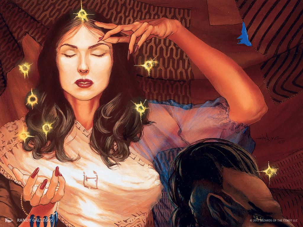 Soul Warden - Illustration by Randy Gallegos