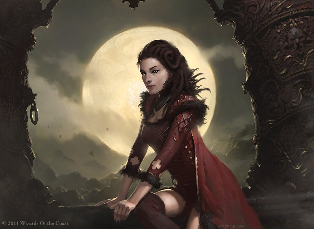 Stalking Vampire - Illustration by Slawomir Maniak