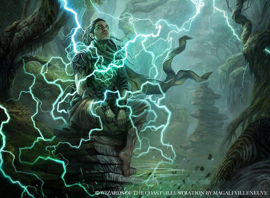 Weather the Storm - Illustration by Magali Villeneuve