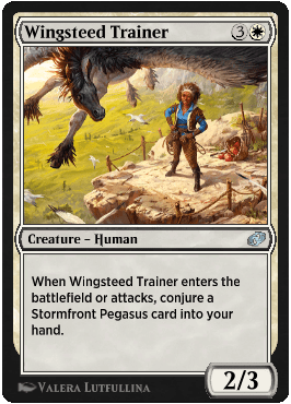 Wingsteed Trainer