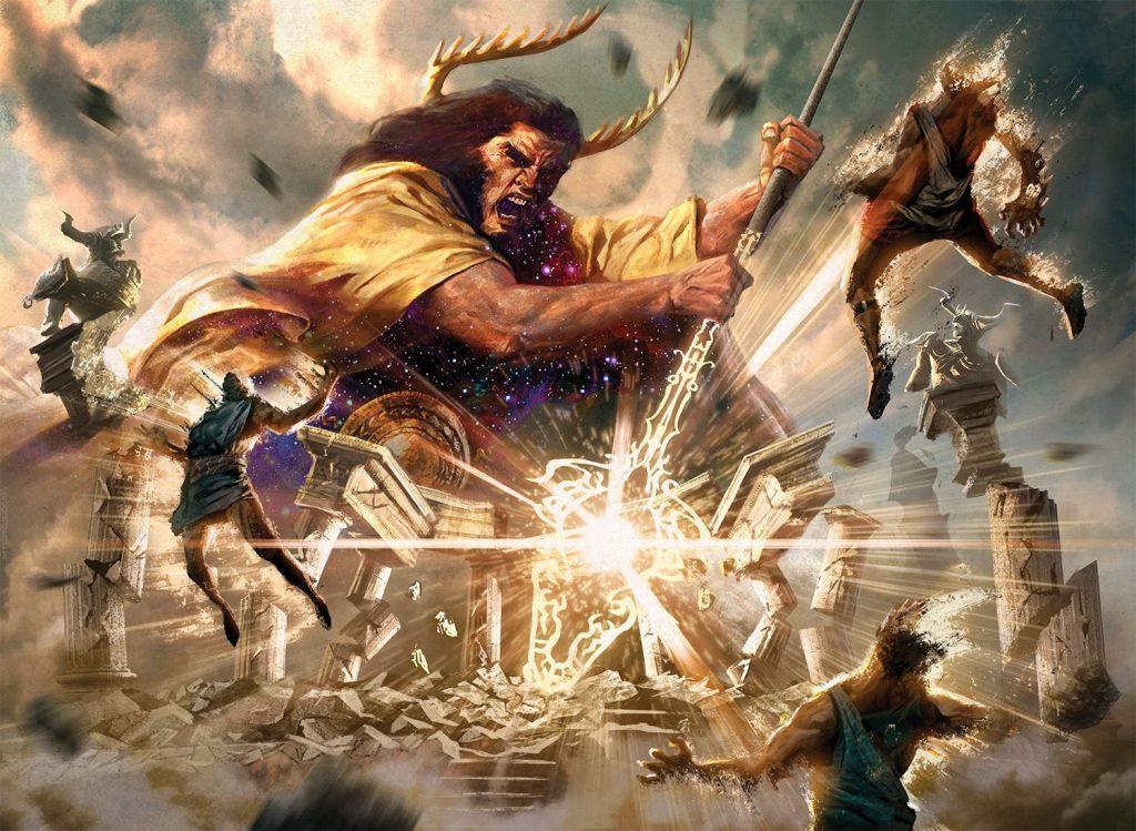 Wrath of God - Illustration by Willian Murai