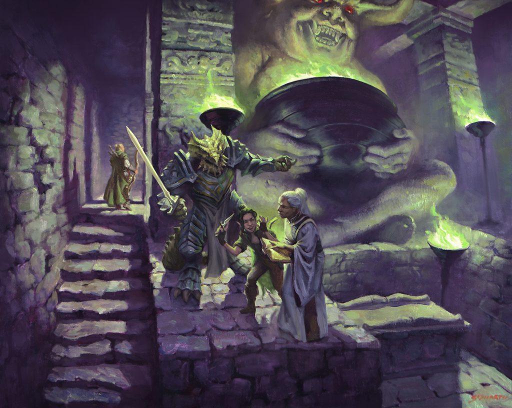You Find a Cursed Idol - Illustration by Sidharth Chaturvedi