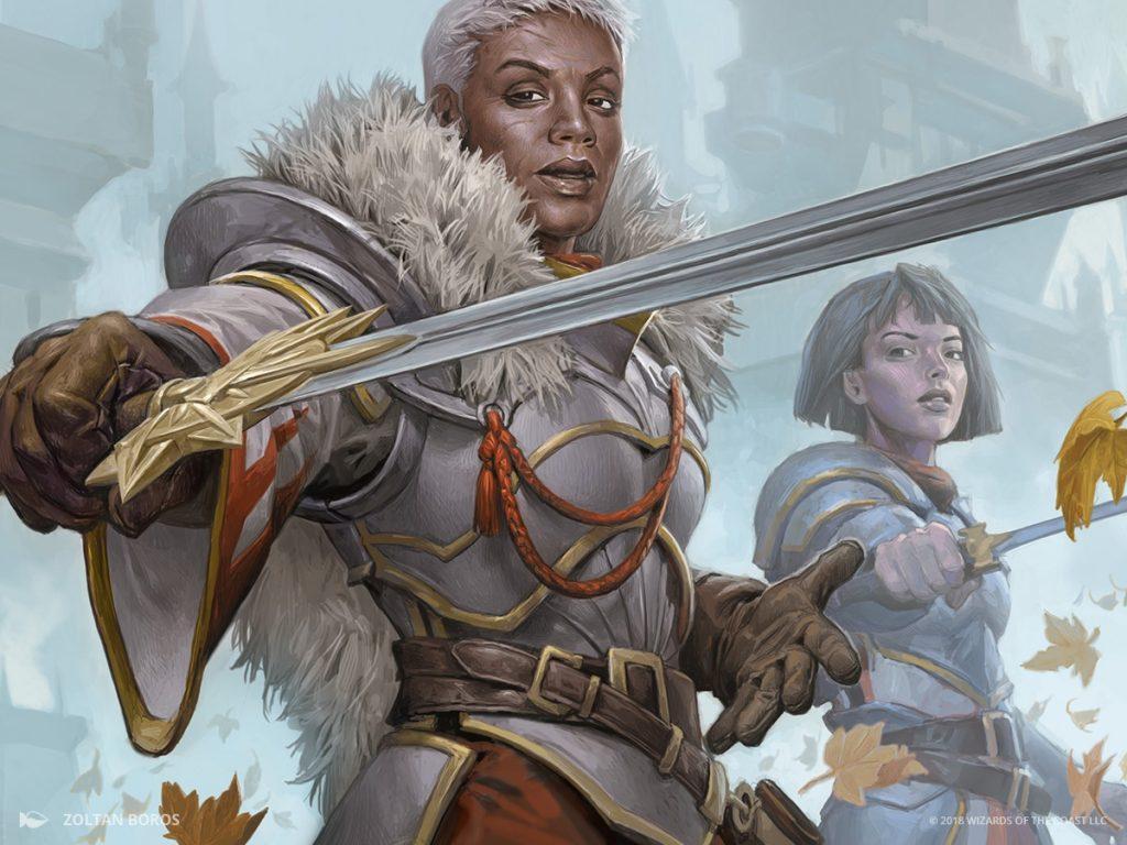 Blade Instructor - Illustration by Zoltan Boros