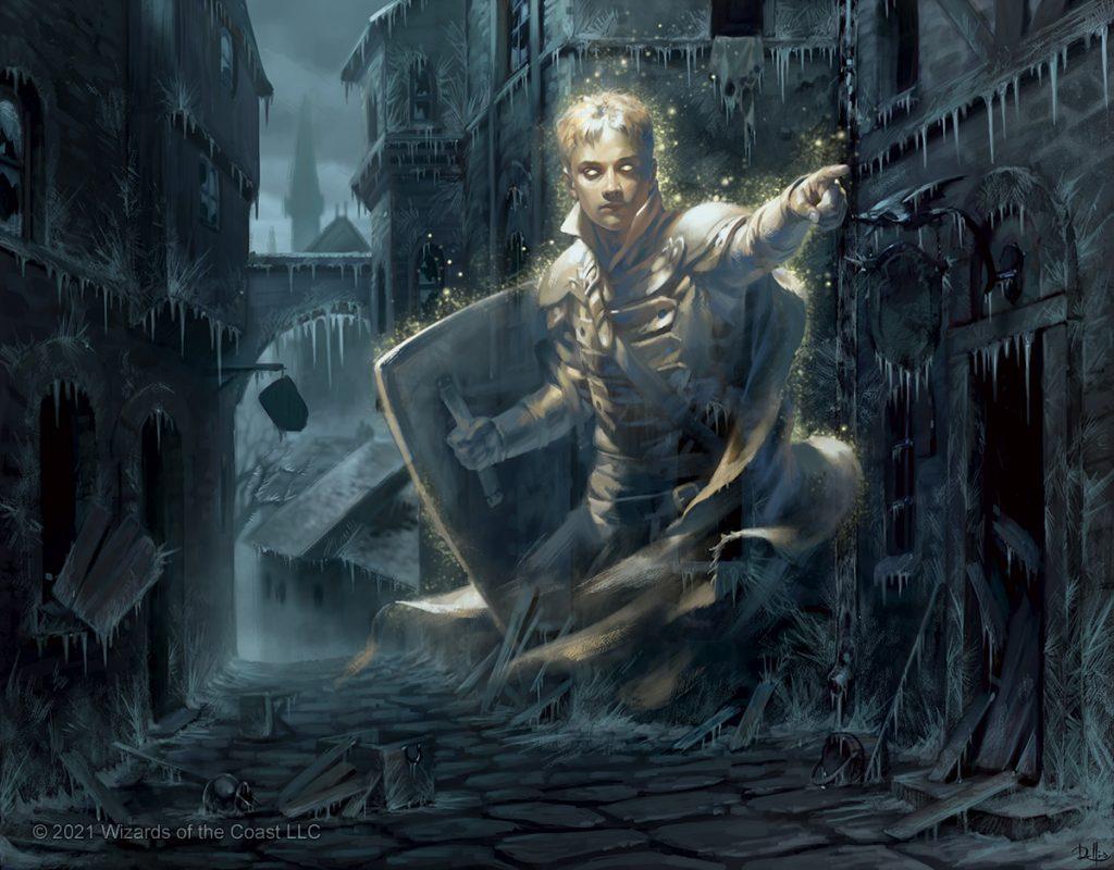 Dennick, Pious Apparition - Illustration by Chris Rallis