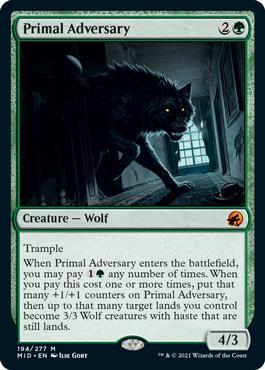 Primal Adversary