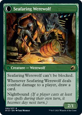 Seafaring Werewolf