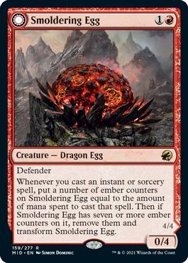 Smoldering Egg