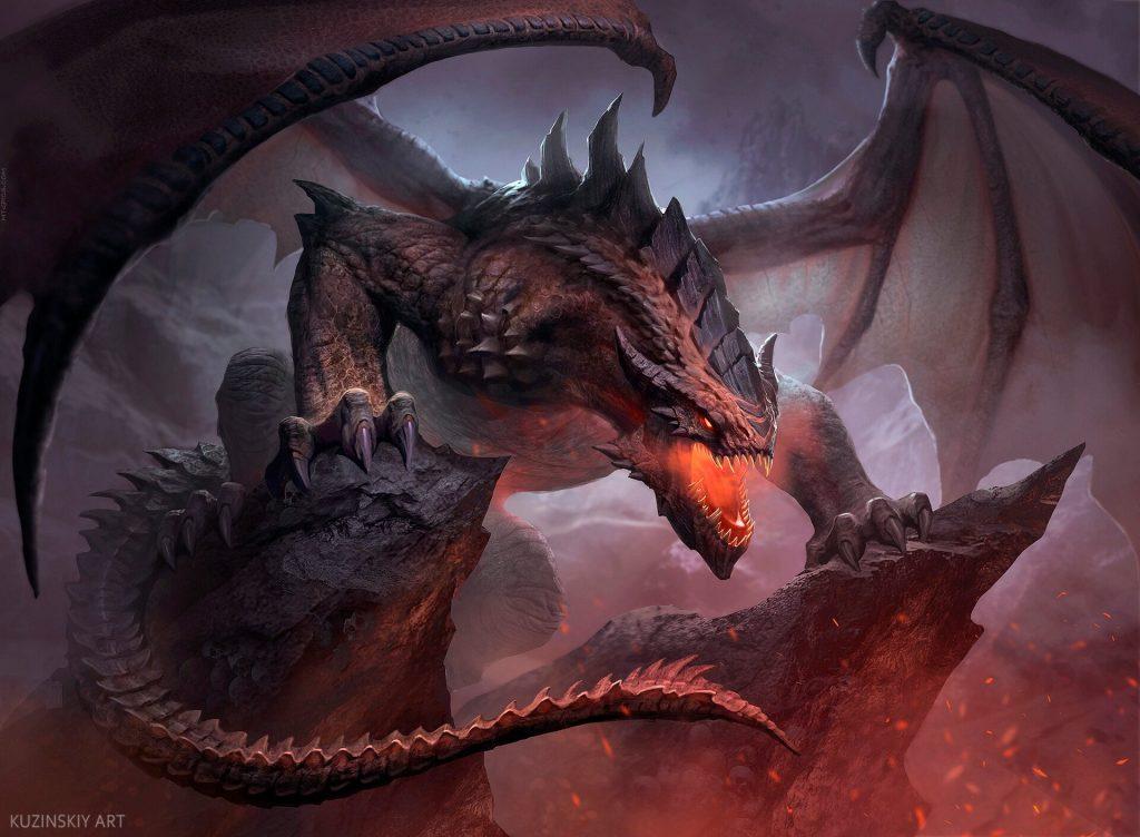 Terror of the Peaks - Illustration by Andrey Kuzinskiy
