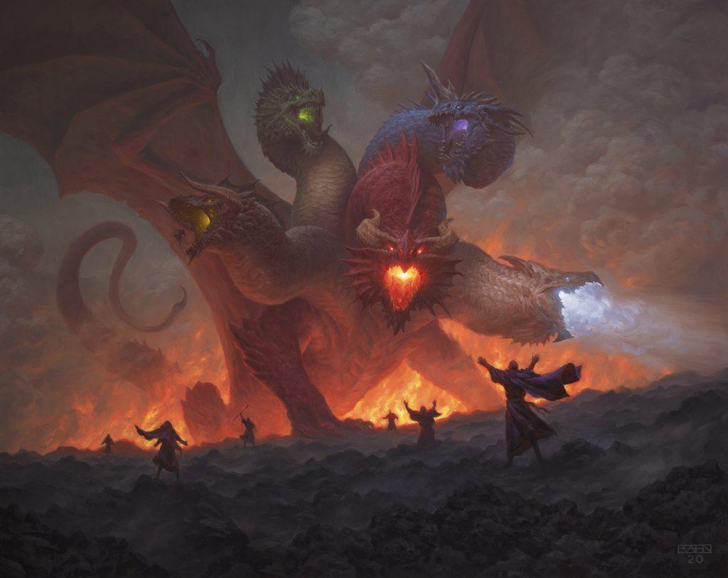 Tiamat - Illustration by Chris Rahn