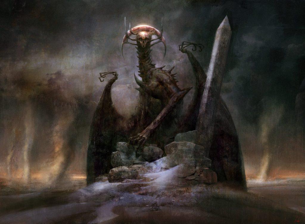 Archfiend of Ifnir - Illustration by Seb McKinnon
