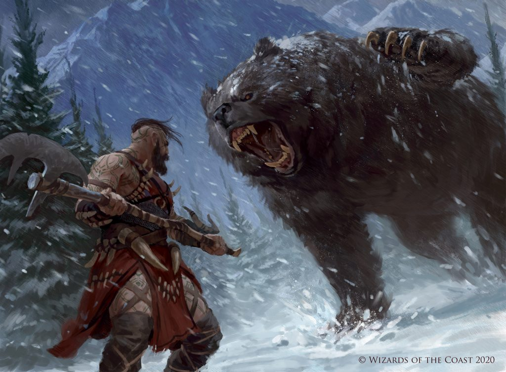 Blizzard Brawl - Illustration by Manuel Castañón